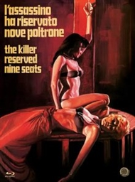 The Killer Reserved Nine Seats - BLURAY (Camera Obscuro) (Uncut) (u. dansk tekst)