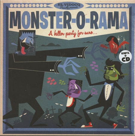 Various Artists - Monster-O-Rama  (LP+CD)