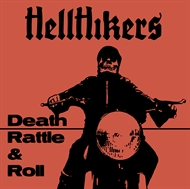 Hellhikers - Death Rattle & Roll (LP)