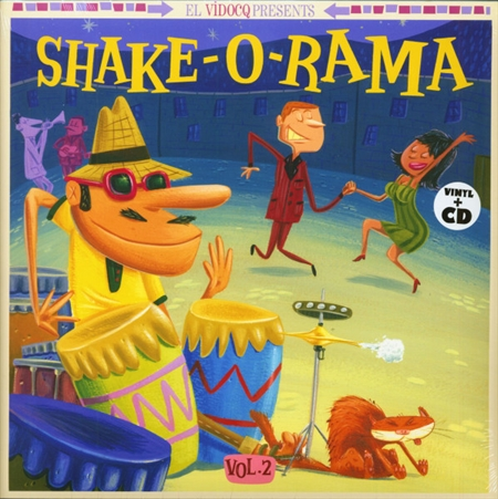 Various Artists - Shake-O-Rama Vol. 2 (LP+CD)