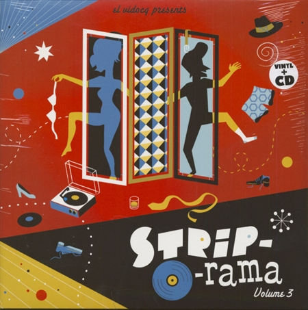 Various Artists - Strip-O-Rama Vol. 3 (LP+CD)