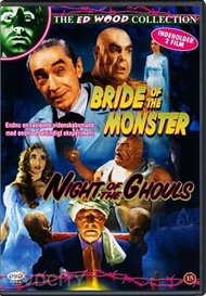 Bride of the Monster / Night of the Ghouls (Double DVD)(Norsk cover)